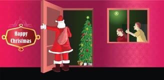 Noël heureux  Images libres de droits