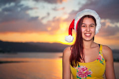 Noël jamaïcain Photographie stock