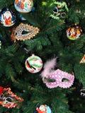 Noël joue le fond Images libres de droits