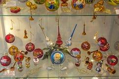 Noël joue sur des opéras et des ballets de Tchaikovsky Image libre de droits