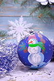Noël, jouets de Noël Image stock