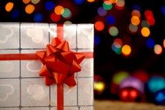 Noël, jour du ` s d'amour, paquets de cadeau d'occasion spéciale Photographie stock
