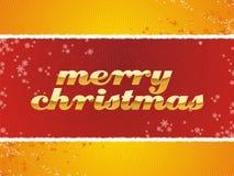 Noël joyeux Photographie stock