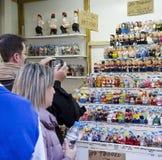 Noël juste à Barcelone Photo libre de droits