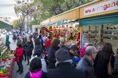 Noël juste à Barcelone Image stock
