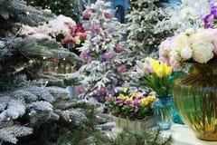 Noël juste, décorations pendant la nouvelle année Photographie stock