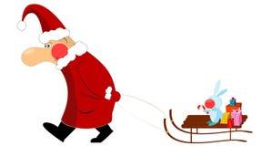 Noël le père noël Photos stock