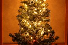 Noël ma version de vecteur d'arbre de portefeuille Photo stock