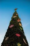 Noël ma version de vecteur d'arbre de portefeuille Images stock