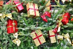 Noël ma version de vecteur d'arbre de portefeuille Image libre de droits