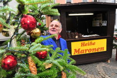 Noël ma version de vecteur d'arbre de portefeuille Photo libre de droits