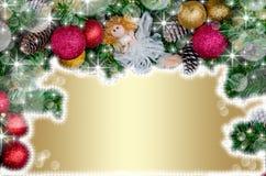 Noël ma version de vecteur d'arbre de portefeuille Photographie stock libre de droits