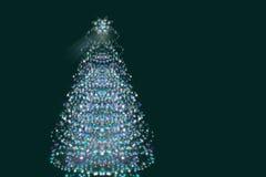 Noël ma version de vecteur d'arbre de portefeuille abrégez le fond illustration stock
