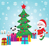 Noël magique Image libre de droits