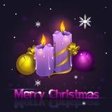 Noël mire nouveau Images stock