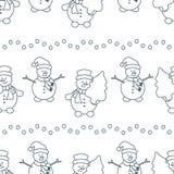Noël, modèle sans couture de la nouvelle année 2019 illustration libre de droits