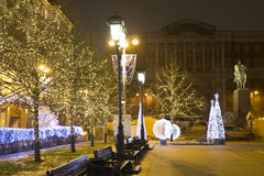 Noël Moscou Image stock