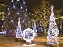Noël Moscou Photographie stock libre de droits