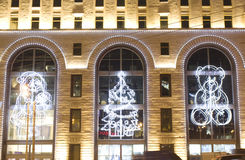 Noël Moscou Photos stock