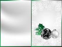 Noël noir Photo stock