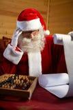Noël, nouveau, année, Santa, Claus, hiver, vacances, saison, fai Image libre de droits