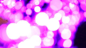 Noël, nouvelle année, les vacances, illumination sous forme de Sakura se développe banque de vidéos