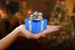 Noël ou cadeau d'anniversaire Photos stock