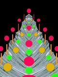 Noël ou carte postale d'an neuf Images libres de droits