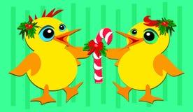 Noël penche la danse Image libre de droits
