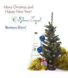 Noël peu commun : Vacances russes Image libre de droits