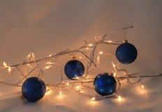 Noël pour quatre Image stock