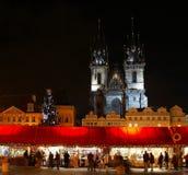 Noël Prague Images libres de droits