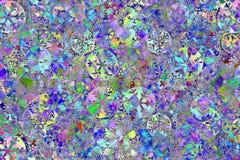 Noël rayé coloré de fond Images stock