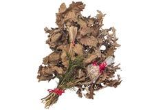 Noël-rondin, badnjak Image stock