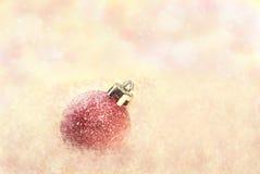 Noël rose photographie stock libre de droits