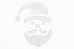 Noël Santa Claus sur le fond blanc Images libres de droits
