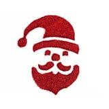 Noël Santa Claus sur le fond blanc Images stock