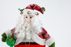 Noël Santa sur le fond blanc Images libres de droits