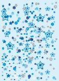 Noël stars des graphismes illustration de vecteur
