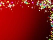 Noël stars le fond illustration stock