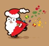 Noël surpreendido Fotografia de Stock Royalty Free