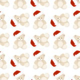 Noël Teddy Bear Image stock