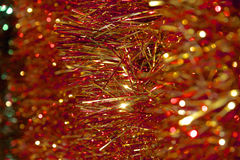Noël Tinsel Decoration Images stock