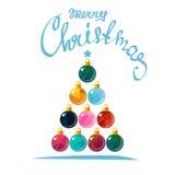 Noël tree-13 Images stock
