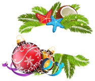 Noël tropical Images stock