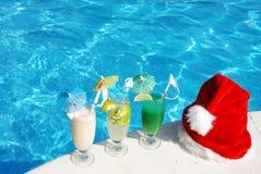 Noël tropical Images libres de droits