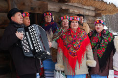 Noël ukrainien Photo stock