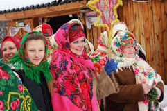 Noël ukrainien Photos libres de droits