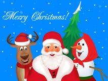 Noël vient Photographie stock