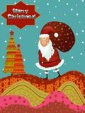 Noël vient Photo libre de droits